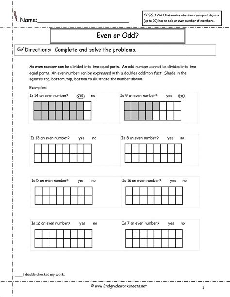 Common Math Worksheets For 2nd Grade by Second Grade Math Problems Worksheet And The