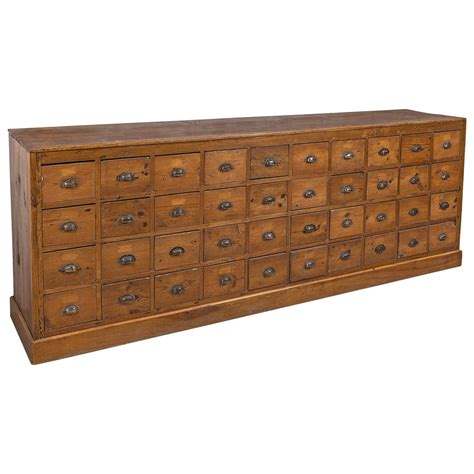 Apothecary Shelf by Wooden Apothecary Cabinet At 1stdibs