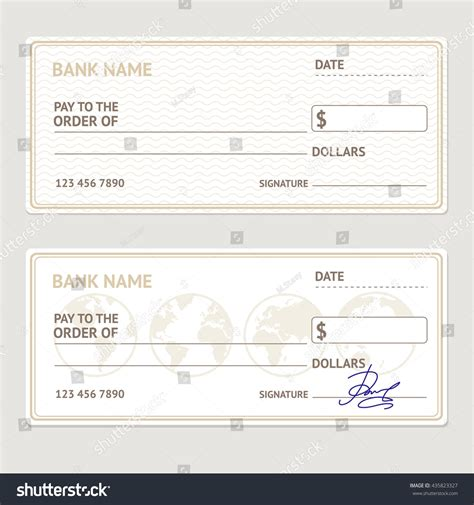 bank check template bank check template eliolera