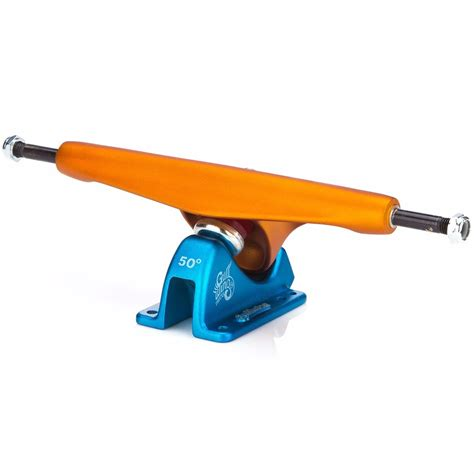 charger trucks truck invertido gullwing charger 1 orange blue 180mm speed
