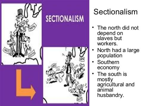 what is sectionalism civil war causes of the civil war