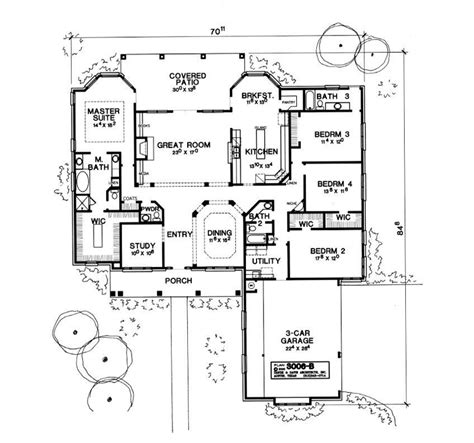 Monticello House Plans The Monticello 1852 4 Bedrooms And 3 Baths The House Designers