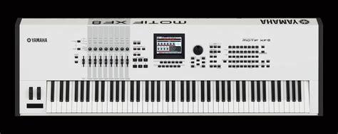 Keyboard Yamaha Motif Xf8 yamaha motif xf8 88 key workstation in white altomusic