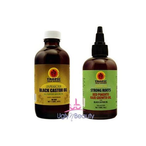 strong roots hair growth oil long hair care forum jamaican black castor oil 4oz strong roots red pimento