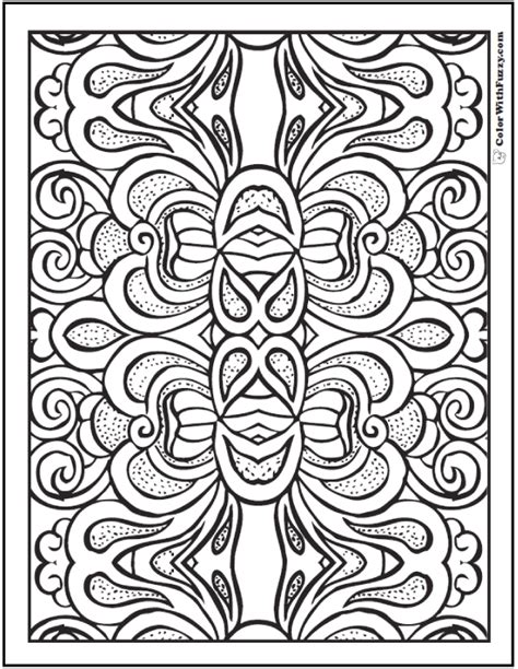 Pattern Coloring Pages Customize Pdf Printables Coloring Pages Pattern