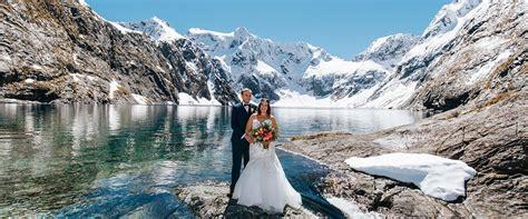 Wedding New Zealand by Heli Weddings In New Zealand Mountain Weddings Wedding