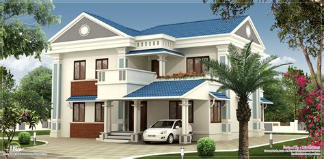 nice house designs 2000 sq feet beautiful villa elevation design kerala