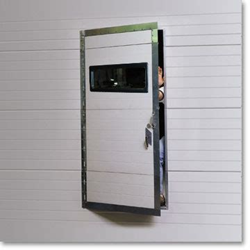 thermaseal pedestrian door raynor commercial garage doors