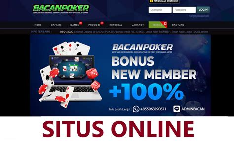 bacanpoker situs idn poker terbaik situs