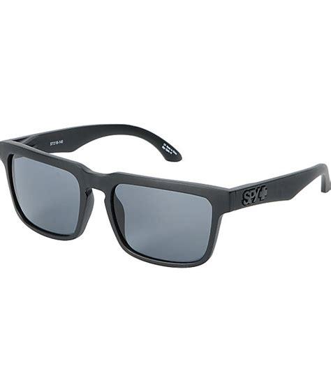 Helm Black Gray Polarized sunglasses helm