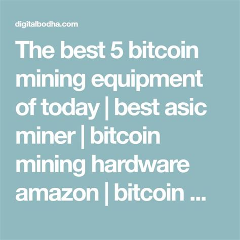 Top 5 Bitcoin Mining Software by Best 25 Mining Equipment Ideas On Heavy