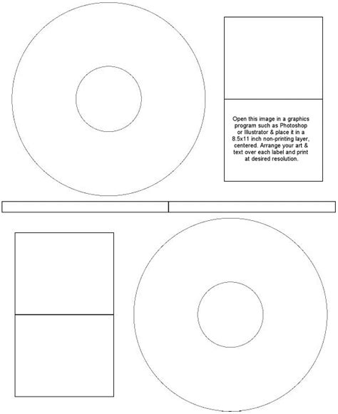 templates for cd labels word cd stomper x64025 template word