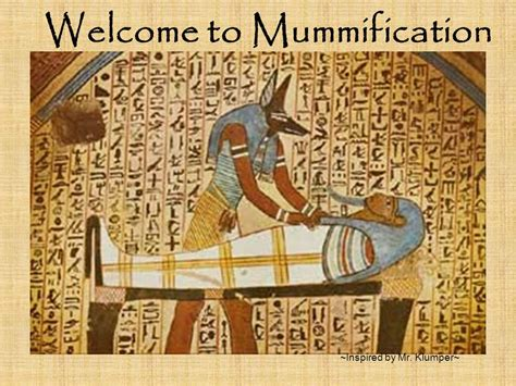 the mummification process welcome to mummification ppt video online download