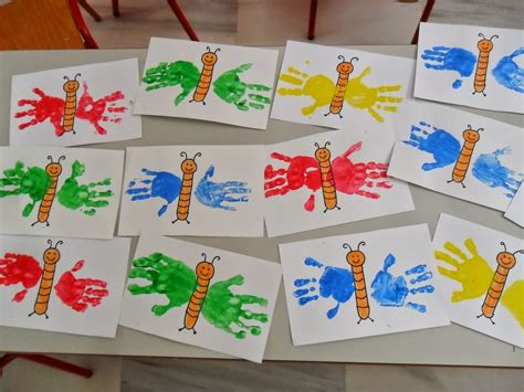 proyecto de fomix el arte en las manos con fomix materiales para educaci 243 n infantil mariposas