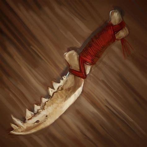 a bone knife bone knife by johnariosa on deviantart