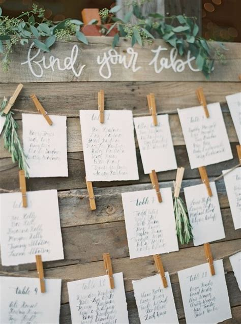 1000 ideas about rustic seating charts on seating rustic cape may wedding wedding charts and