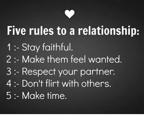 faithful timer five to a relationship 1 stay faithful 2 make them