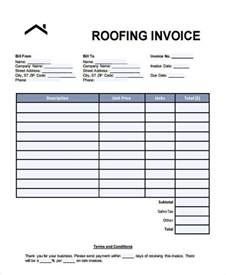 Roofing Template invoice for roofing template studio design gallery