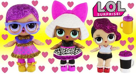 Lol Doll Glitter Series Ori new lol glitter series blind bag baby dolls