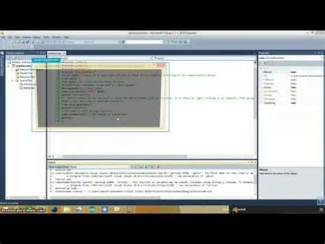 tutorial arduino visual studio visual studio c serial communication tutorial part 1
