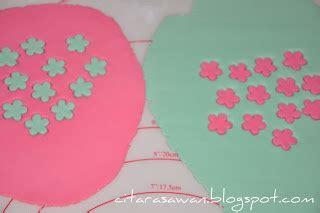 Sapu Lidi Pink 1 hiasan fondant cupcake si manis bunga fondant cupcake