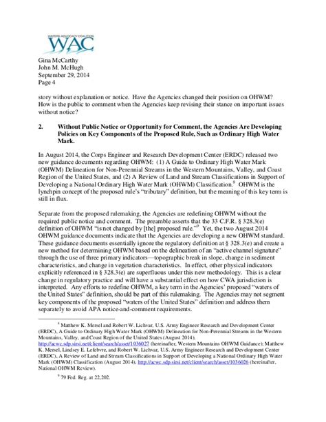 Letter Withdrawing Shares Coalition Letter Urging Withdrawal Of Epa Corps Waters Of The U S