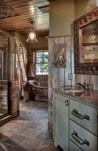 12 insanely gorgeous log house bathrooms tin pig