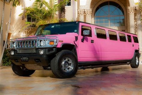 pink hummer limo ft lauderdale limo limo services fort