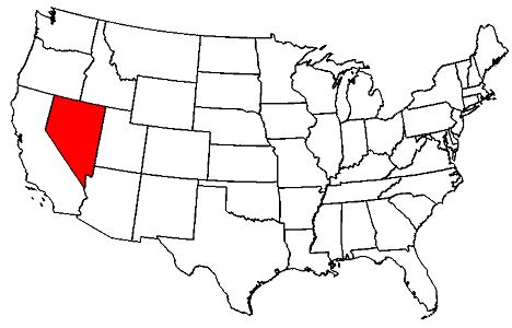 nevada on us map nevada on us map gallery