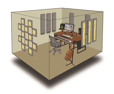 add a room kit 10 room kit steven klein s sound room inc