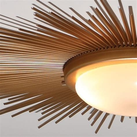 Brass Ceiling Lights Modern Sunburst Gold Modern Stylish Flush Mount Ceiling Lights Modern Flush Mount Ceiling Lights Gold
