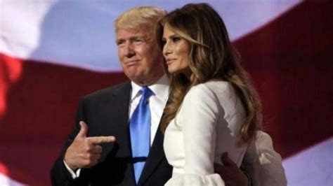 donald trump presiden ke kena deh istri donald trump dituduh jiplak pidato istri
