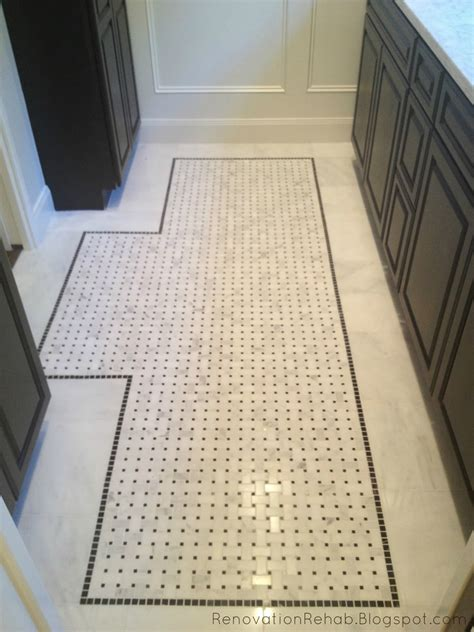 Tile Floor Mat That We Added In The Vanity Area Ideas