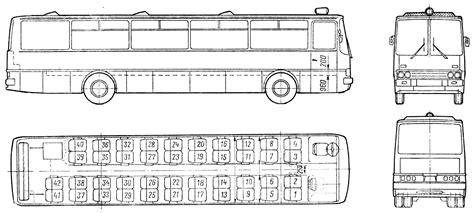 free blueprint car blueprints 1969 ikarus 250 bus blueprint