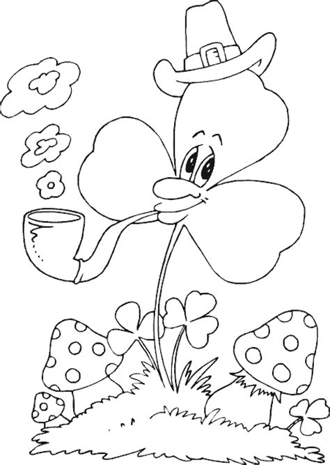 water pipe coloring pages coloring pages clover smoking pipe coloring page coloring com