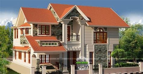 western style home plans western style spacious 3 bhk house kerala home design