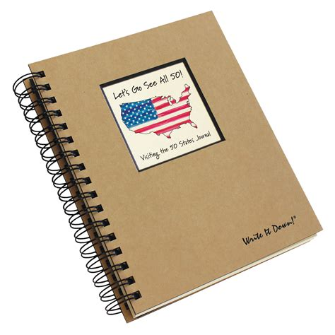 all fifty states let s go see all 50 visiting the 50 states journal