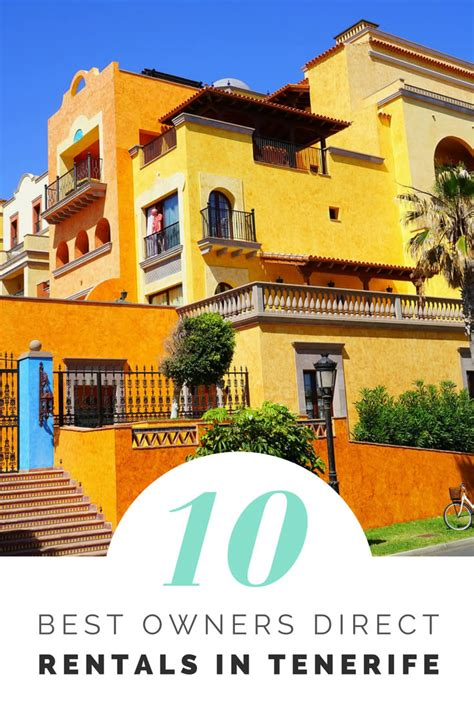 Owners Apartments To Rent In Tenerife Best Owners Direct In Tenerife Rental Guide
