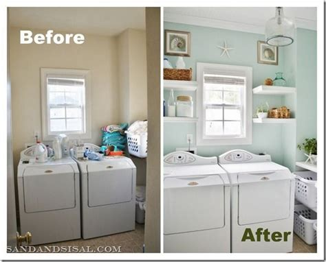 diy laundry room makeovers tiny laundry rooms layout and before and after pictures