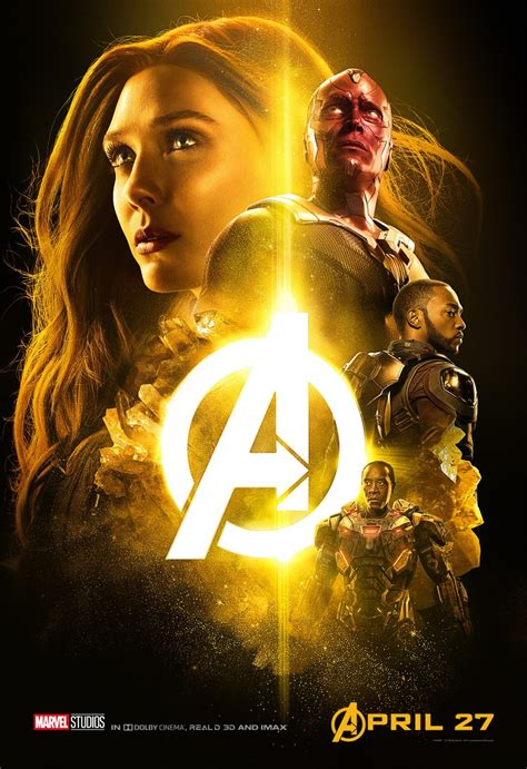 film war marvel release more mcu posters for avengers infinity war