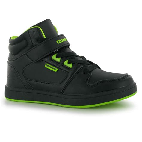 mid cut basketball shoes donnay hoop mid childrens trainers high cut ankle