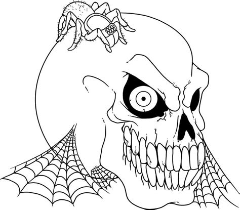 scary coloring pages best coloring pages for kids