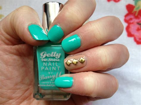 Nail Paint by Tilly S Notd Greenberry Barry M Gelly Hi Shine