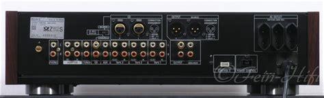 xlr eingang sony ta e80 es high end stereo vorverst 228 rker vorstufe