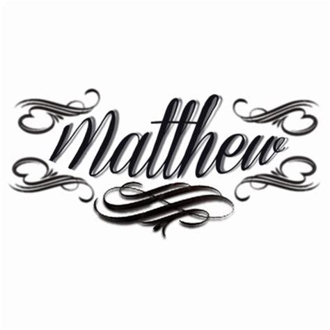 tattoo name matthew pics for gt matthew name tattoo designs