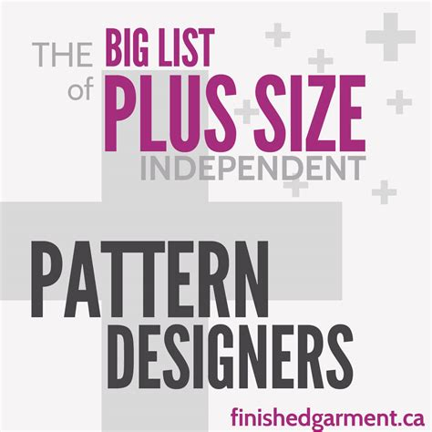 sewing pattern companies independent the big list of independent sewing patterns for the plus