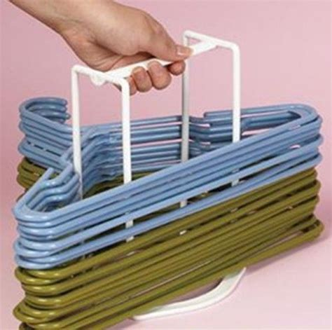 clothes hanger caddy closet organizer storage holder