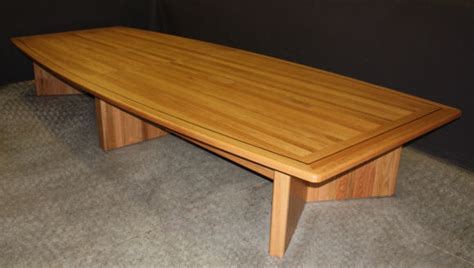 Oak Meeting Table Oak Wood Conference Tables By Specialty Woods Llc