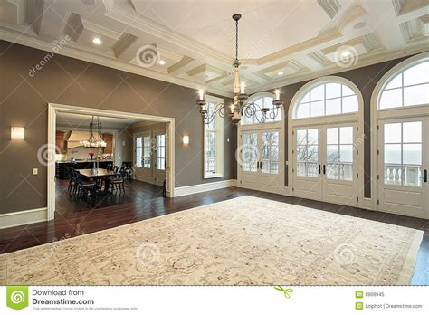 complete home remodeling jmarvinhandyman family room with balcony view royalty free stock photo
