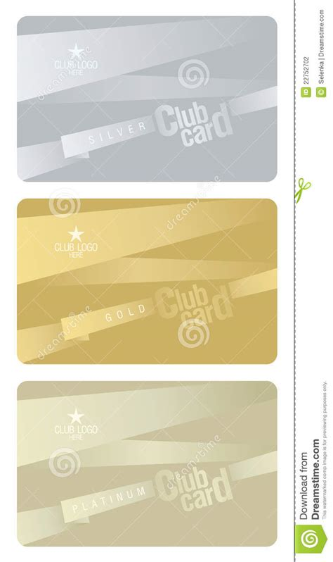 platinum membership card template club card design template stock photography image 22752702